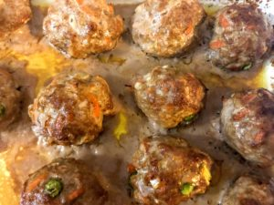 Vegetable Pork Meatballs