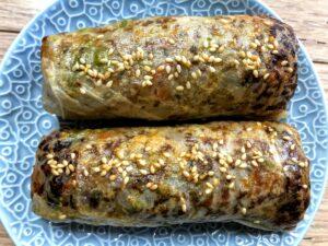 Gluten Free Pork & Veggie Spring Rolls