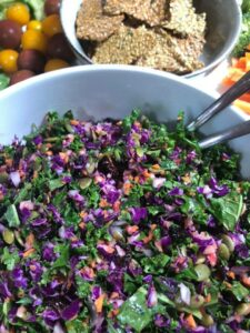 Detox Summer Slaw & benefits of leafy green vegetables