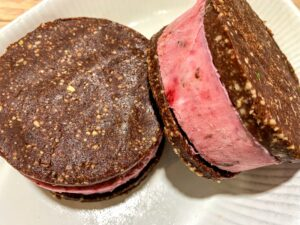 Raw Ice-cream Sandwich