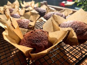Super Moist Chocolate Muffins