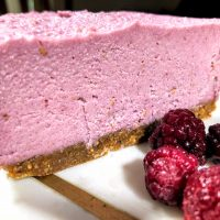 raspberry cheese cake 2